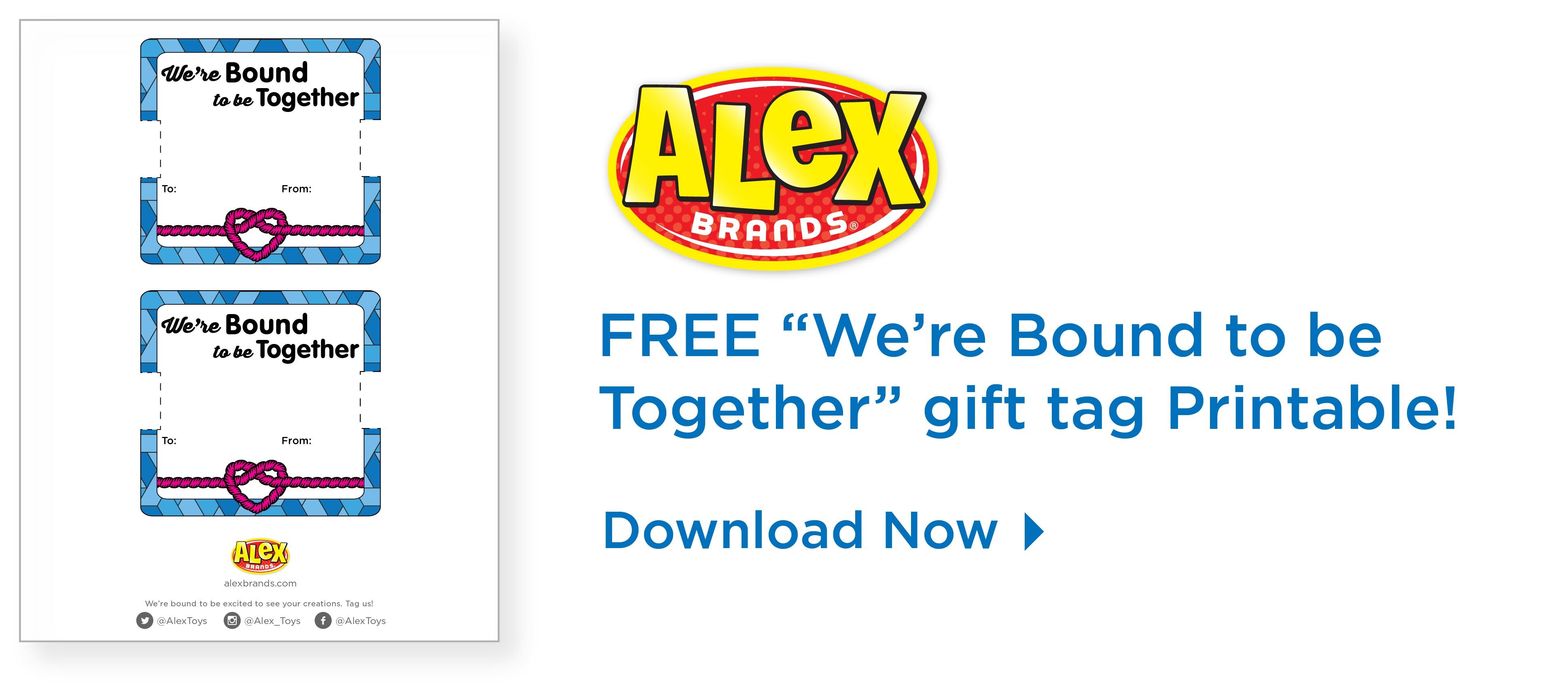 Bound To Be Together Friendship Bracelet Printable Backer Card - Free Printable Friendship Bracelet Patterns
