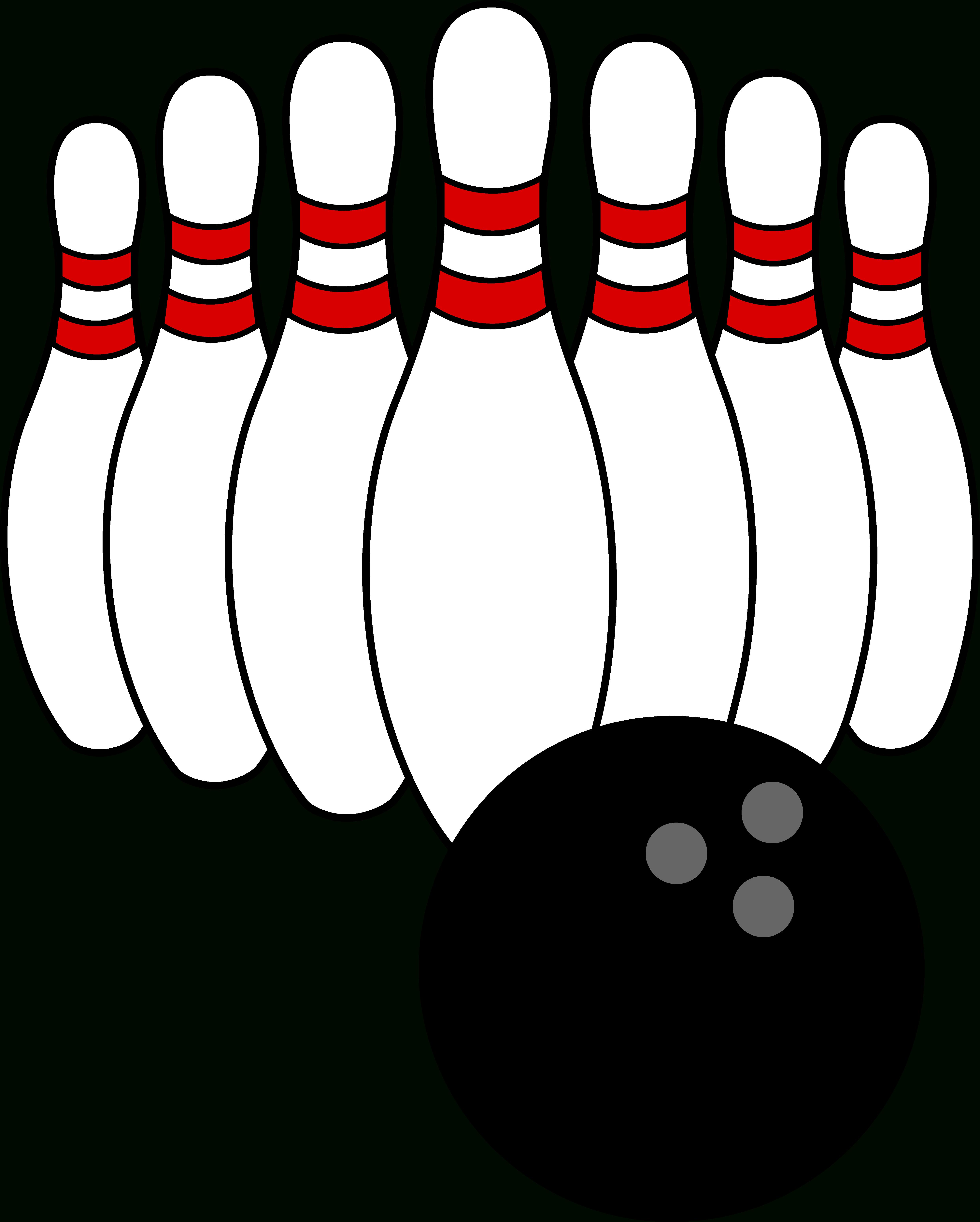 Bowling Clip Art | Bowling Ball And Pins | Bowling | Bowling Ball - Free Printable Bowling Clipart