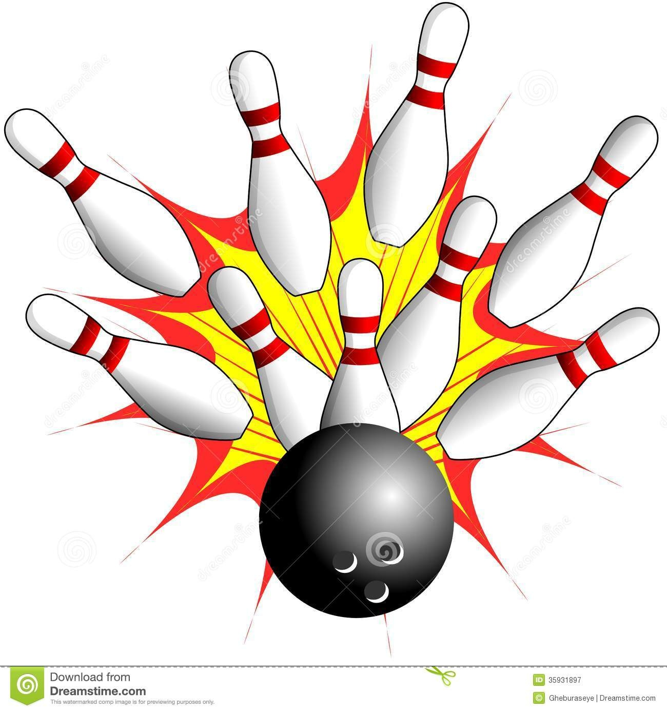Bowling Free Clipart | Free Download Best Bowling Free Clipart On - Free Printable Bowling Clipart