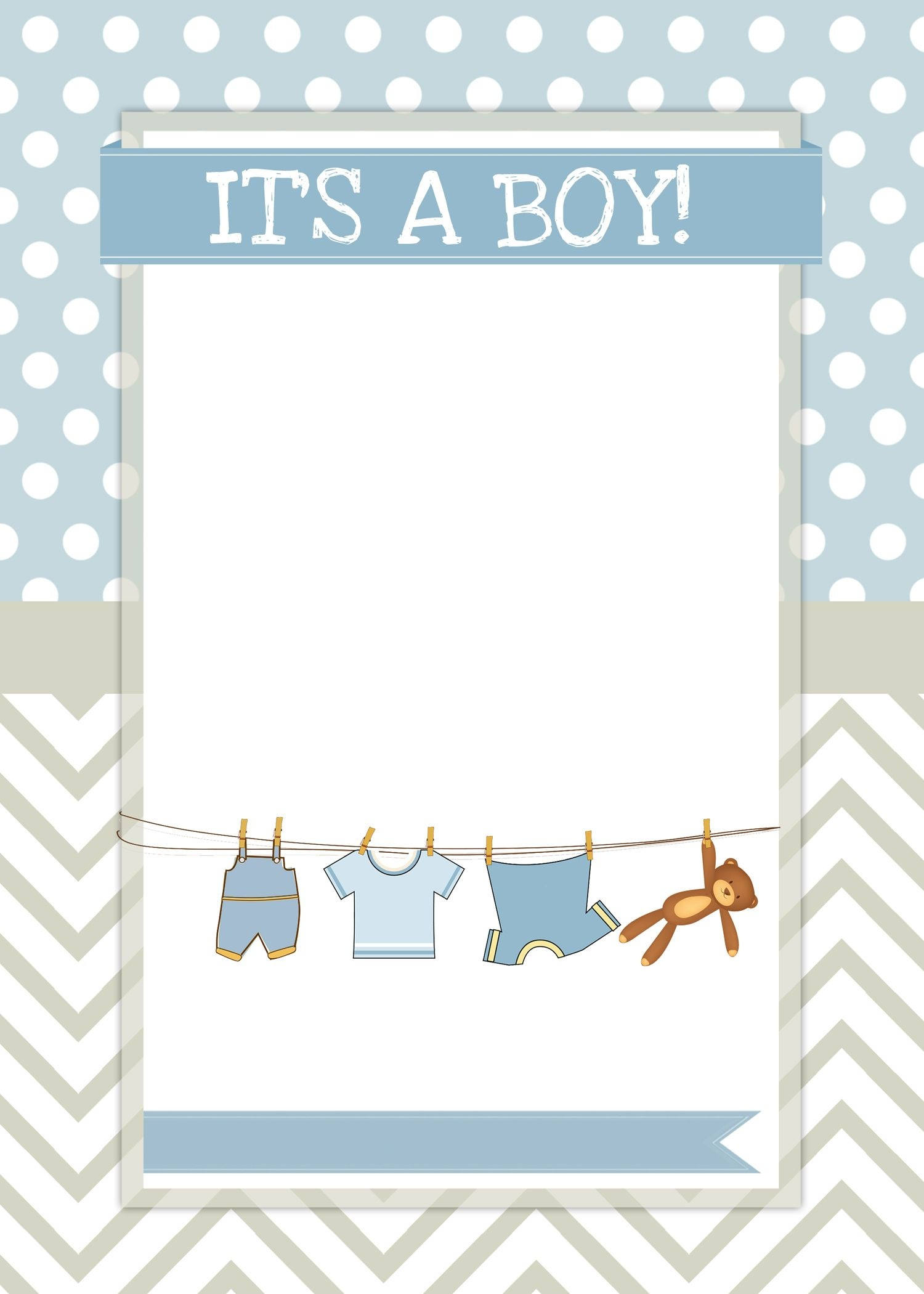 Boy Baby Shower Free Printables | Ideas For The House | Free Baby - Free Baby Boy Shower Invitations Printable