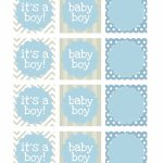 Boy Baby Shower Free Printables | Printable | Návody, Nápady, Tisk   Free Printable Baby Shower Favor Tags