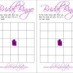 Bridal Bingo (And A Free Printable) | A Bride On A Budget   Free Printable Bridal Bingo Sheets
