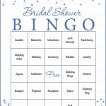 Bridal Bingo Cards   Printable Download   Prefilled   Bridal Shower   Free Printable Bridal Bingo Sheets