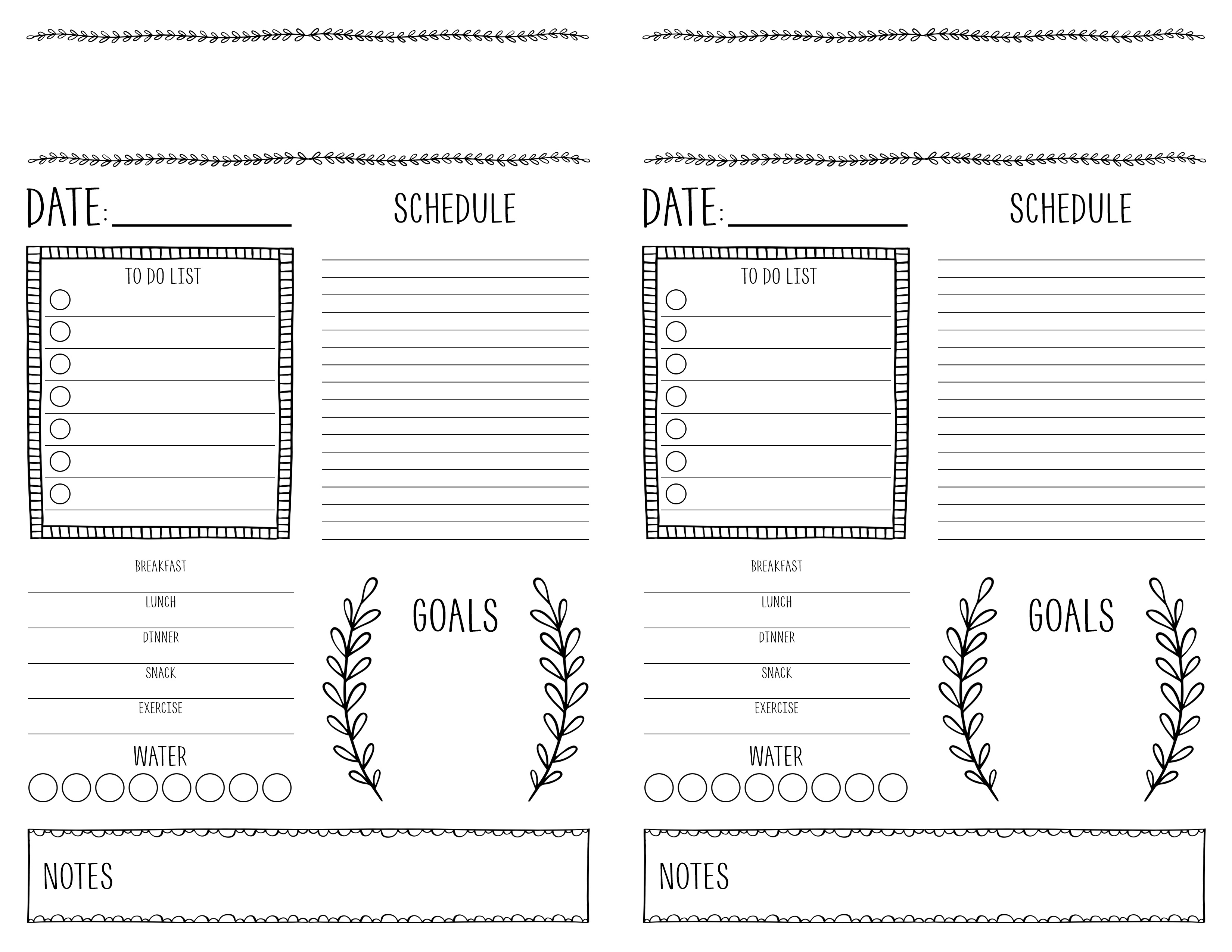 Bullet Journaling For Beginners With Free Printable - The Cottage Market - Free Bullet Journal Printables