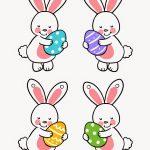 Bunny Bunting Printable | Easter   Free Printable Easter Bunting