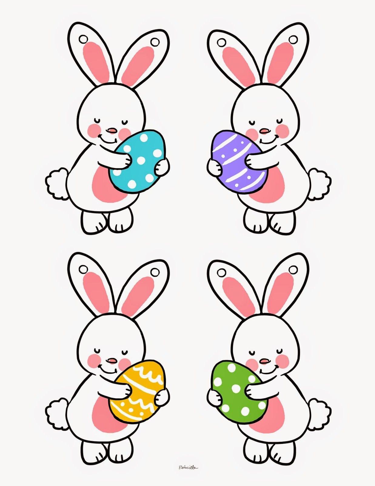 Bunny Bunting Printable | Easter - Free Printable Easter Bunting