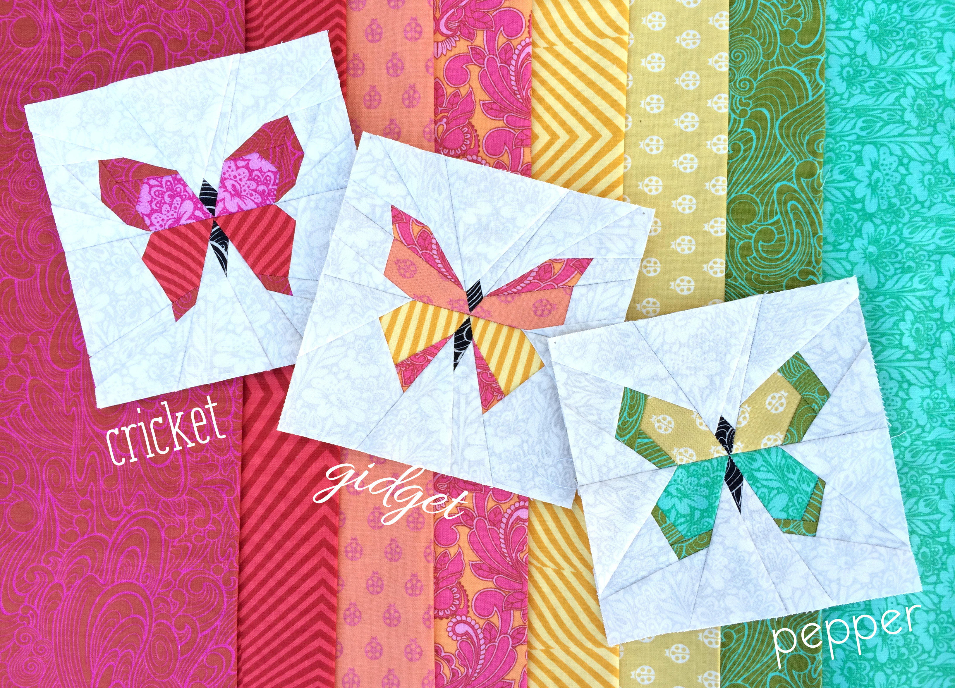 Butterfly Charm Block Paper Piecing Patterns – Lillyella - Free Printable Paper Piecing Patterns For Quilting