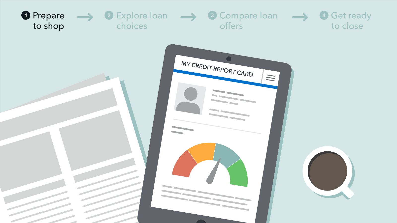 Buying A Home? The First Step Is To Check Your Credit   Consumer - Free Printable Credit Report