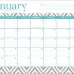 Calendar Templates Free Printable Free 2016 Calendar Printable   Free Printable Chevron Templates