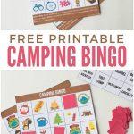 Camping Bingo Free Printable Cards | Free Printables | Camping Bingo   Free Camping Printables