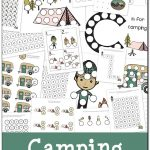 Camping Do A Dot Printables {Free}   Gift Of Curiosity   Free Camping Printables