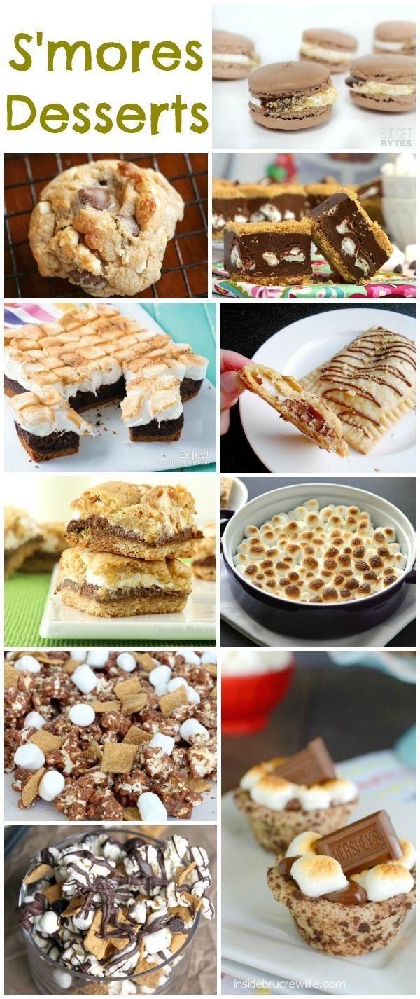 Campout Date Night With Free Printable | Summer Ideas | Dessert - Free Printable Dessert Recipes