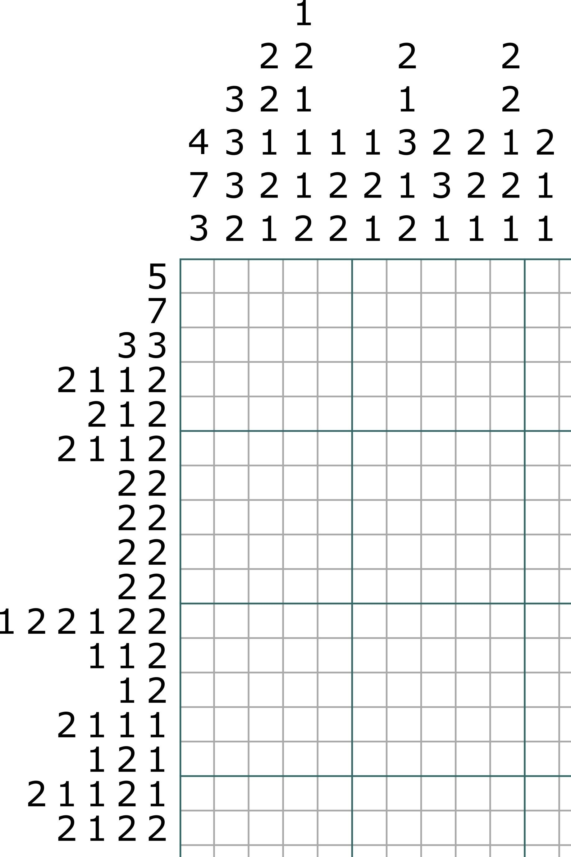 Can You Solve This #nonogram #logic #puzzle #brainteaser ? What Is - Free Printable Skyscraper Puzzles