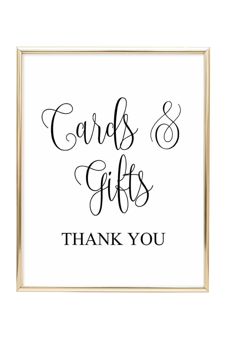 Cards And Gifts Wedding Sign | Sarah's | Wedding Reception Signs - Cards Sign Free Printable