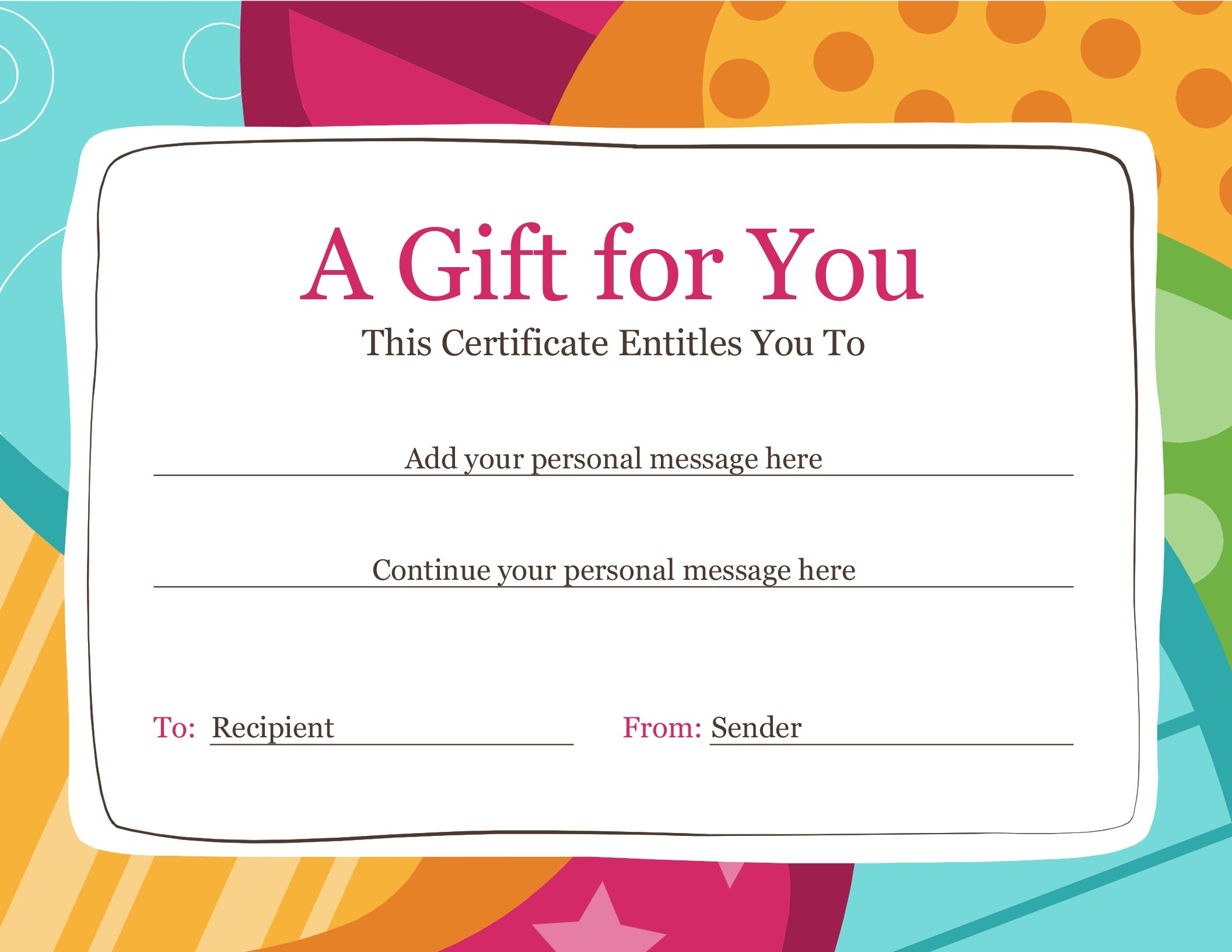 Certificates - Office - Free Printable Camp Certificates