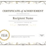 Certificates   Office   Free Printable Certificates Of Achievement