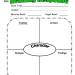 Character Trait Reading Response From Scholastic Top Teaching | For   Free Printable Character Map