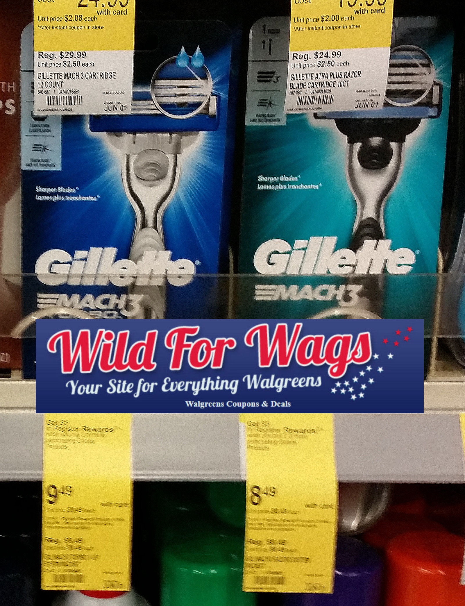 Check Your Paper For $4 Gillette Coupon – $1.91 Gillette Mach Razors! - Free Printable Gillette Coupons