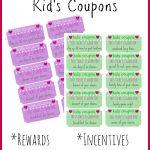 Children's Gift Idea: Free Printable Reward Tickets   My Frugal   Free Printable Tickets