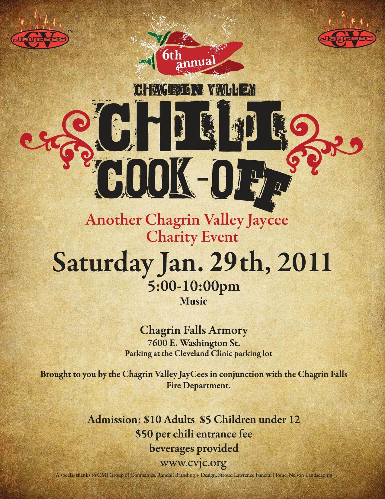 Chili Cook Off Flyer Template Free Printable - Wow - Image - Free Printable Event Flyer Templates