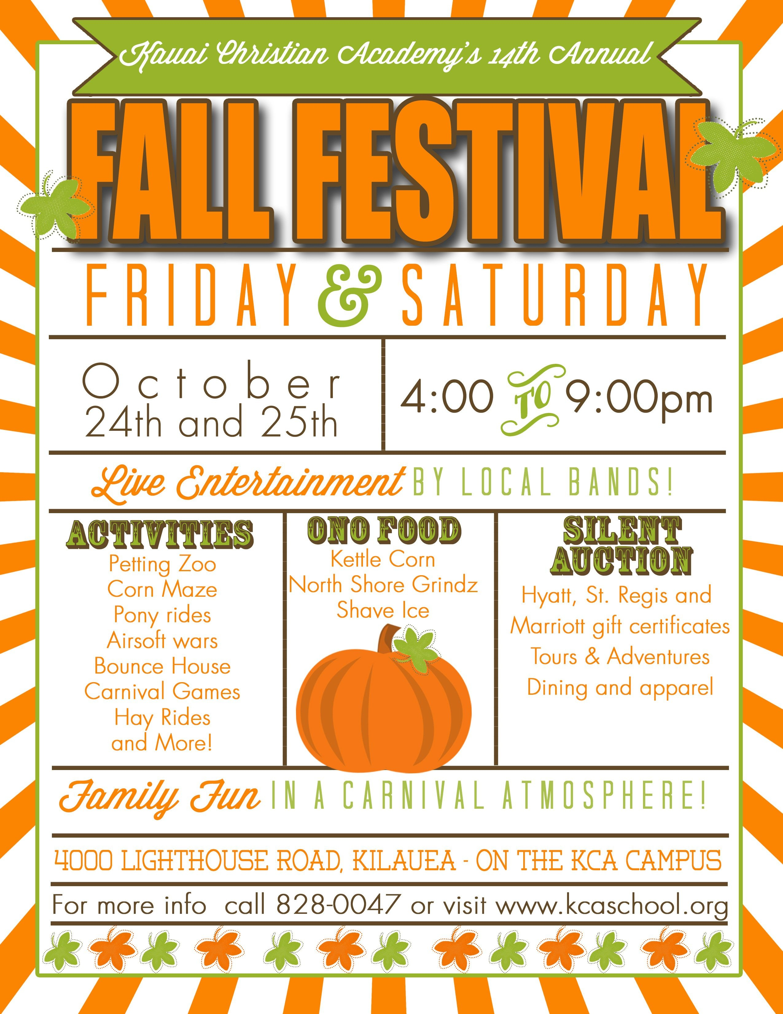 Christian Academy's 14Th Annual Fall Festival In 2019 | Photoshop - Free Printable Fall Festival Flyer Templates
