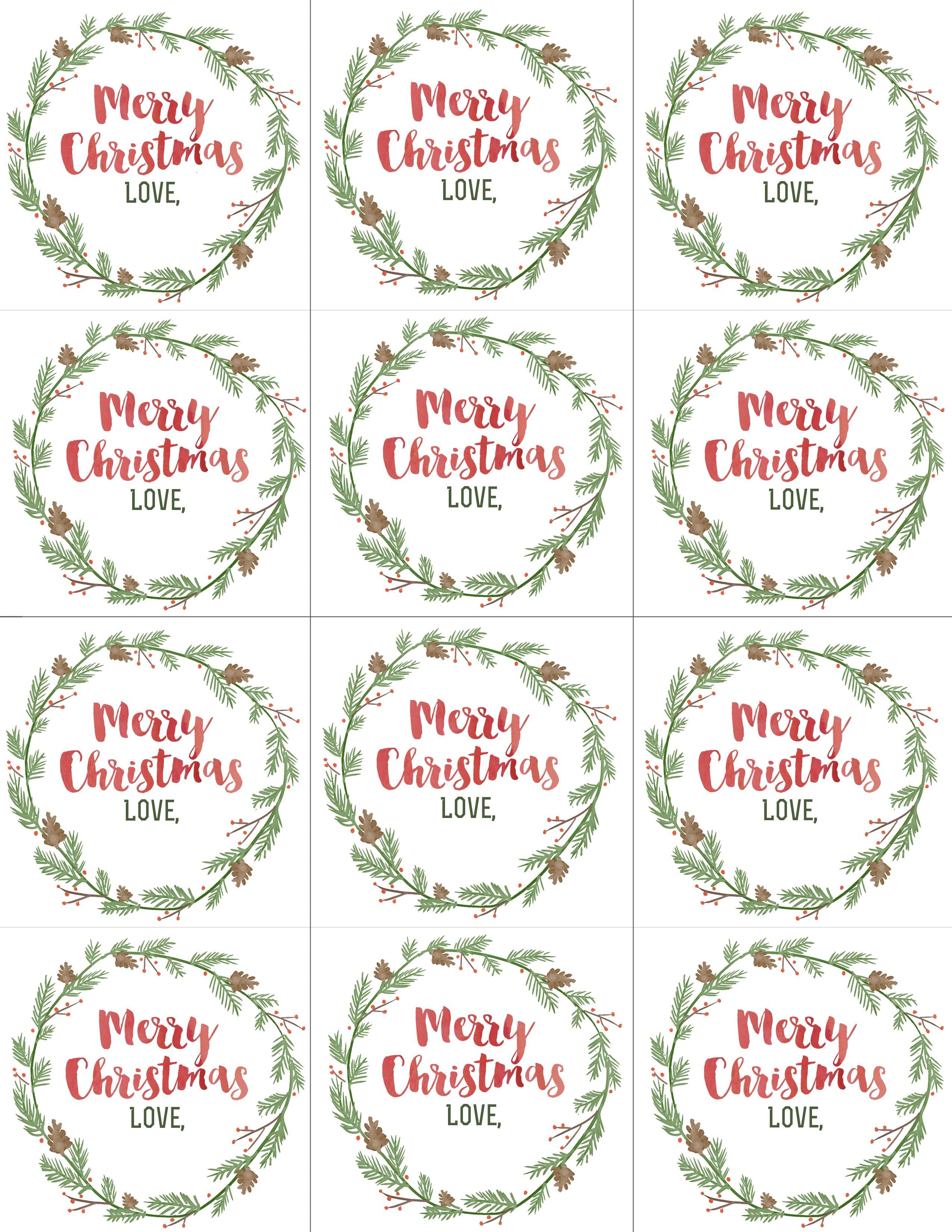Christian Christmas Gift Tags Printable Free – Festival Collections - Free Printable Christian Christmas Gift Tags