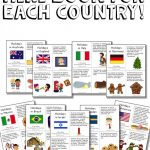 Christmas Around The World Activities And A Freebie! | Preschool   Christmas Around The World Free Printables