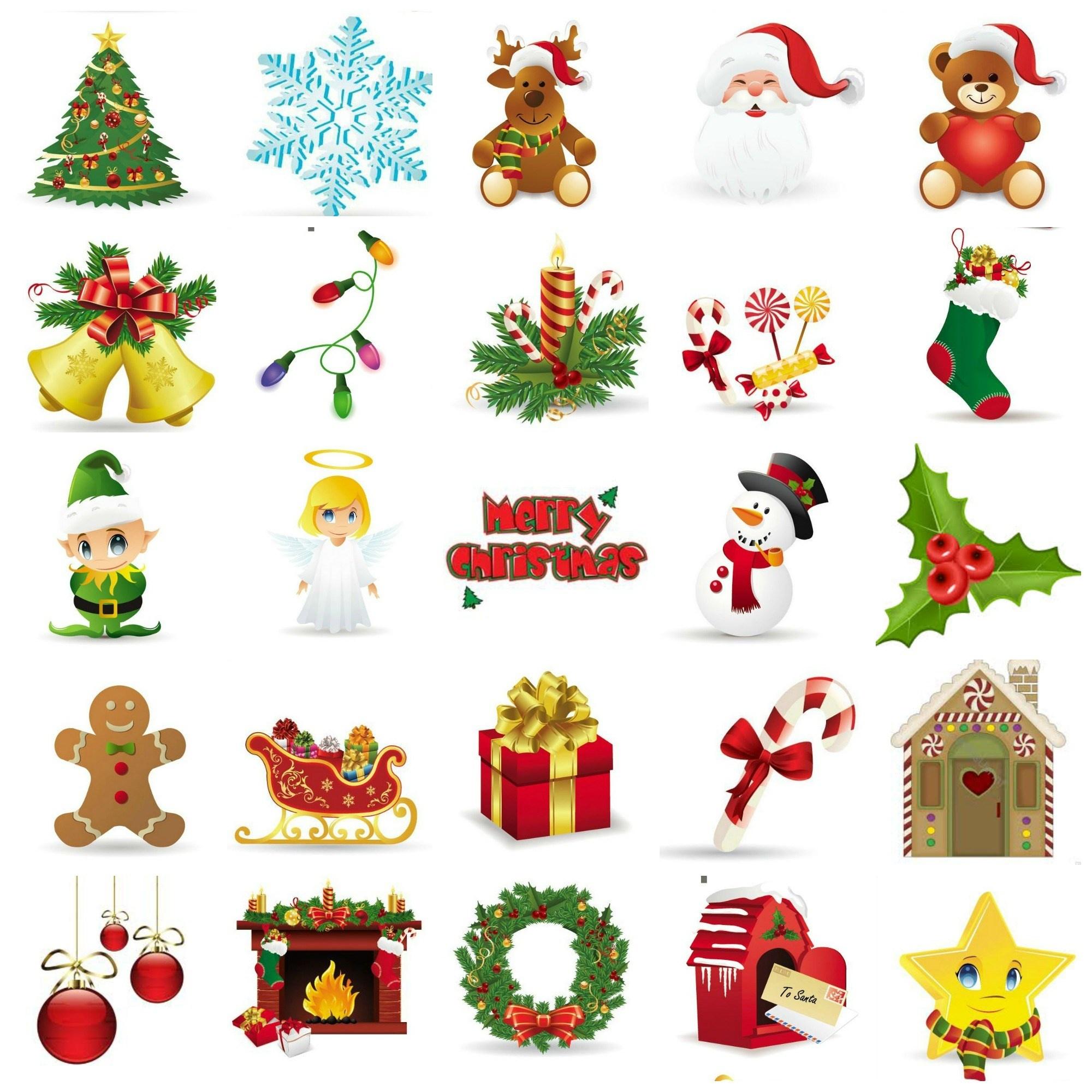 Christmas Bingo- Free Printables - Free Printable Christmas Cutouts