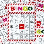 Christmas Bingo Printable For Large Groups & Small • A Subtle Revelry   Free Printable Bingo Cards For Large Groups