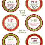 Christmas Cookies In A Jar | Recipe | Canning | Christmas Cookie   Free Printable Jar Labels Christmas