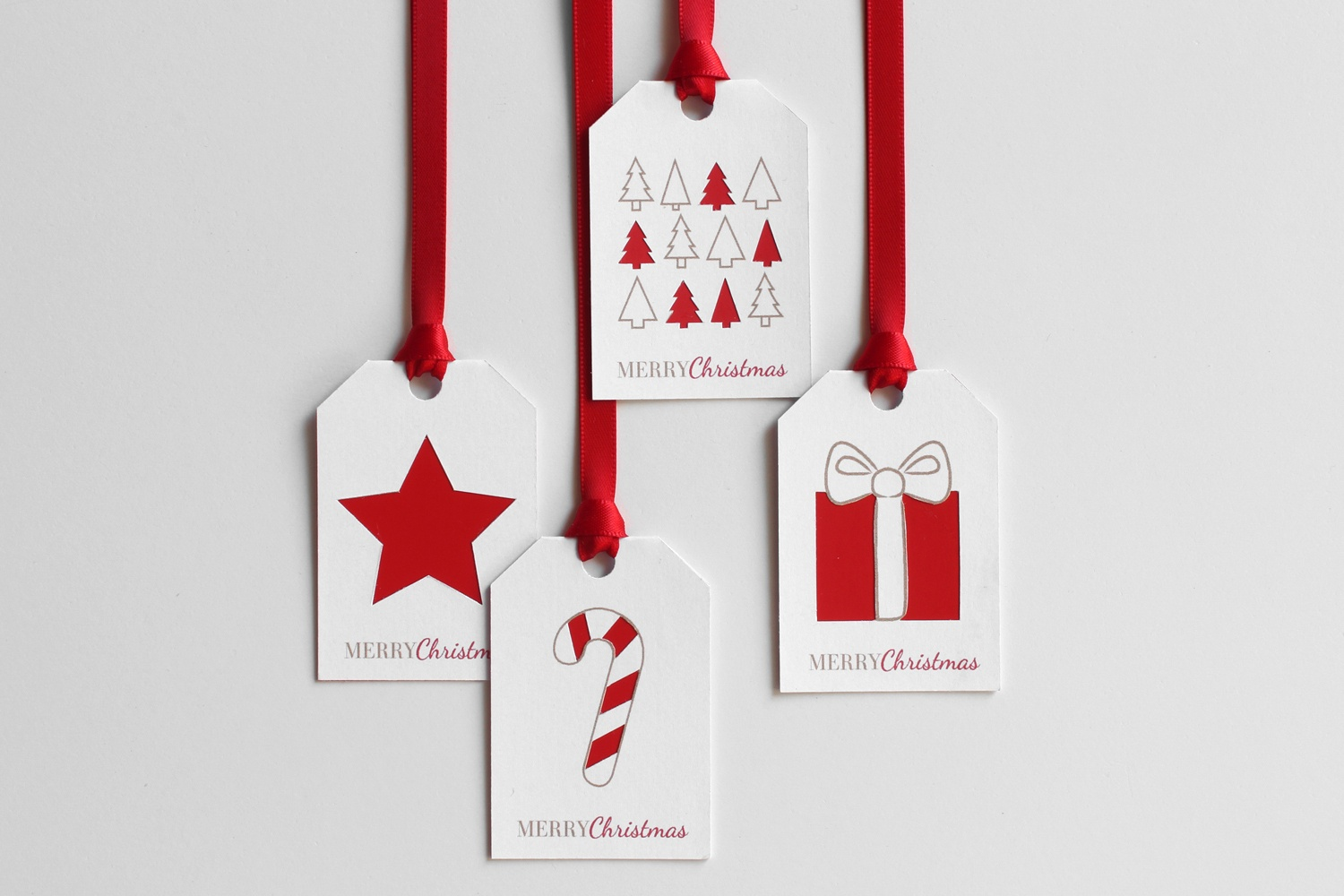 Christmas Diy Week 2/8: Paint Chip Gift Tags With Free Printable – A - Diy Christmas Gift Tags Free Printable