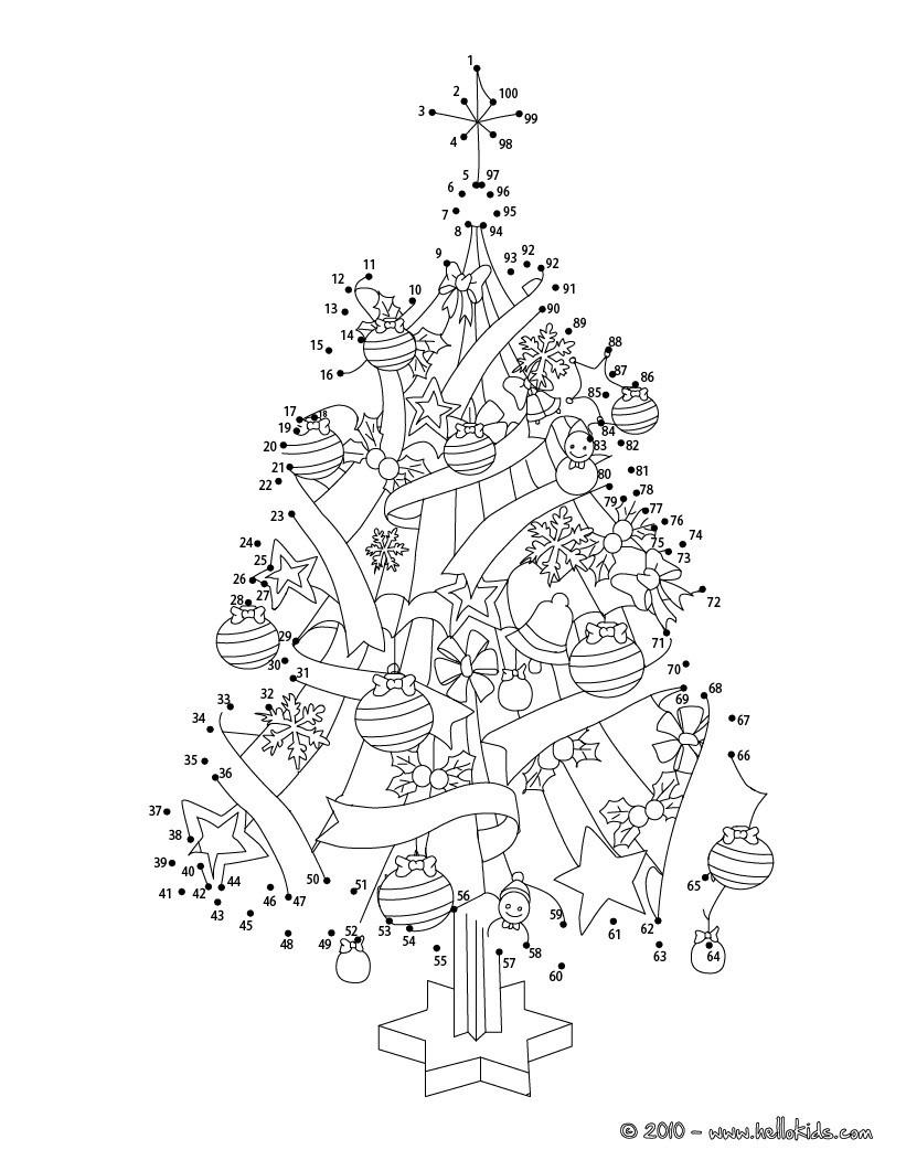 Christmas Dot To Dot - 24 Free Dot To Dot Printable Worksheets For Kids - Free Printable Connect The Dots Christmas Worksheets