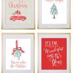 Christmas Free Printable Wall Art   Download Free Christmas Art   Free Holiday Printables