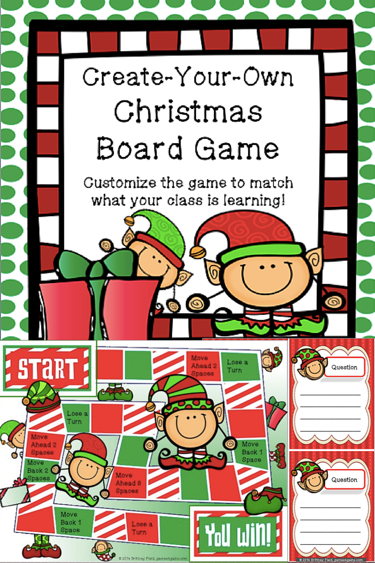 Christmas Game: Customizable Christmas Activity | Free Lessons - Free Online Printable Christmas Games For Adults