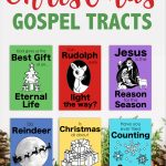 Christmas Gospel Tracts (Free Printables)   Flanders Family Homelife   Free Bible Tracts Printable