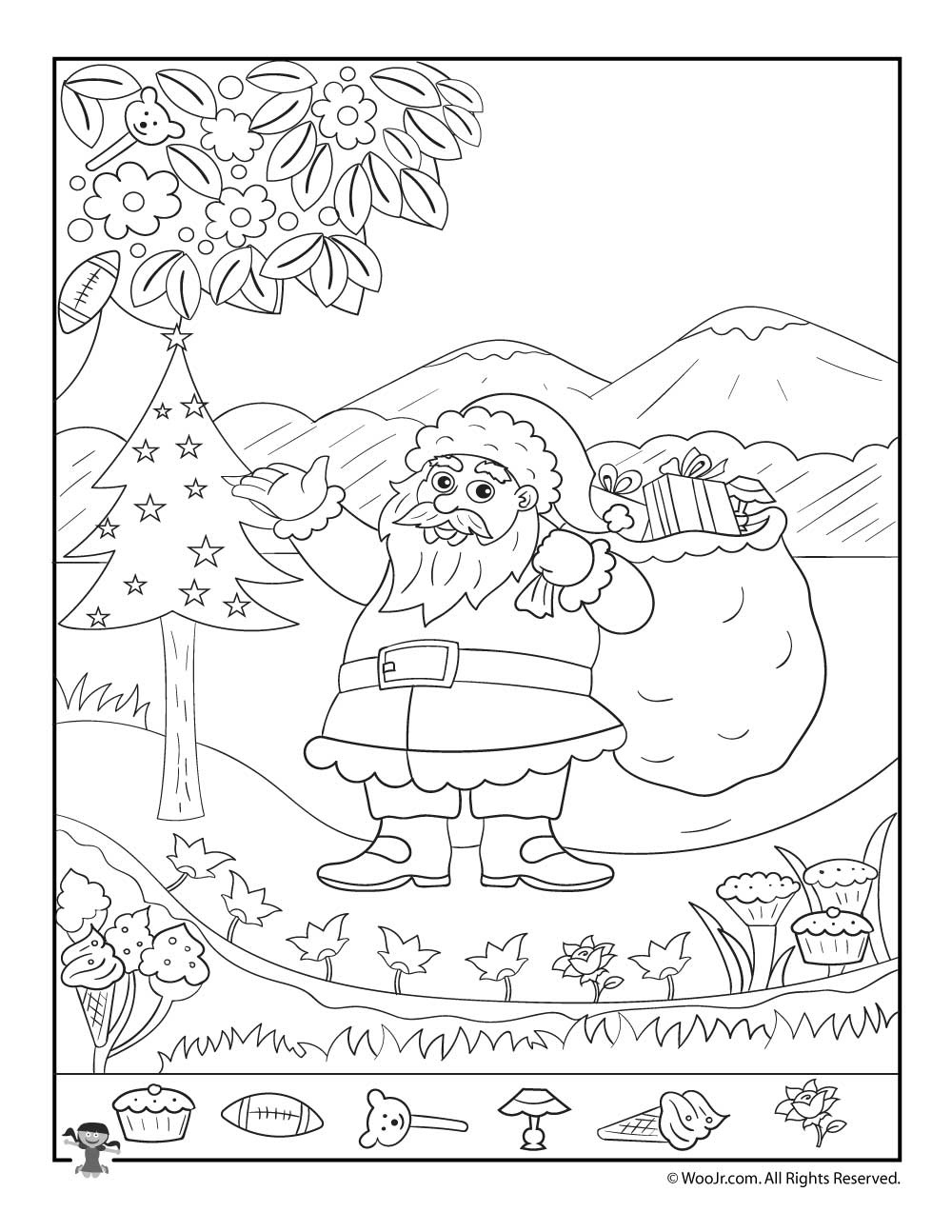 Christmas Hidden Pictures Printables For Kids   Woo! Jr. Kids Activities - Free Printable Christmas Hidden Picture Games