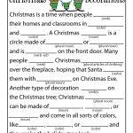Christmas Mad Libs | Woo! Jr. Kids Activities   Free Printable Mad Libs