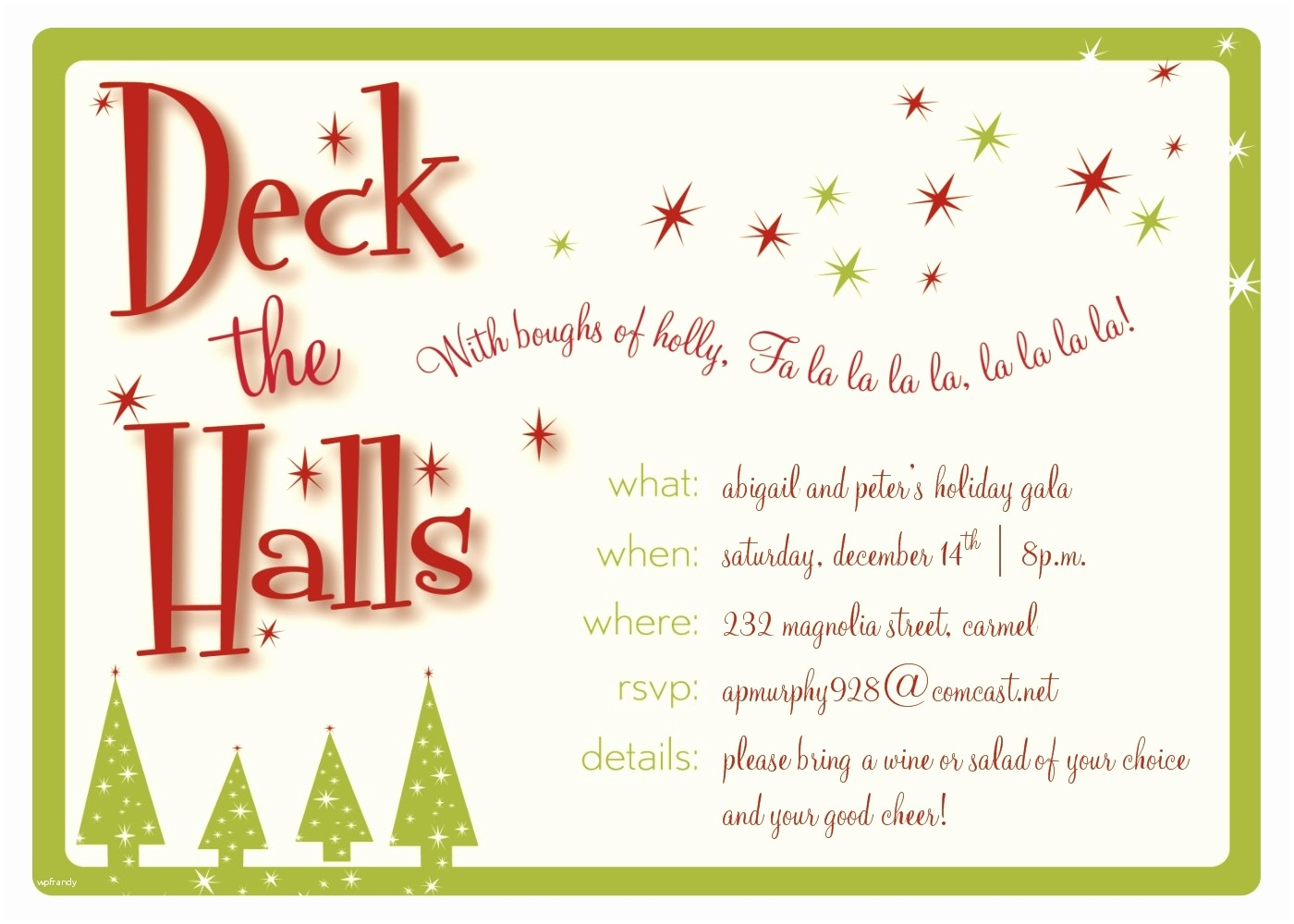 Christmas Party Invitation Template Ai • Invitation Template Ideas - Free Online Printable Christmas Party Invitations