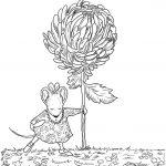 Chrysanthemum Coloring Page | Free Printable Coloring Pages | Just   Chrysanthemum Free Printable Activities