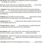 Church House Collection Blog: Bible Scavenger Hunt | Sunday School   Free Printable Bible Lessons For Youth Kjv