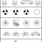 Circle The Picture That Is Different   4 Worksheets | Preschool Work   Free Printable Same And Different Worksheets