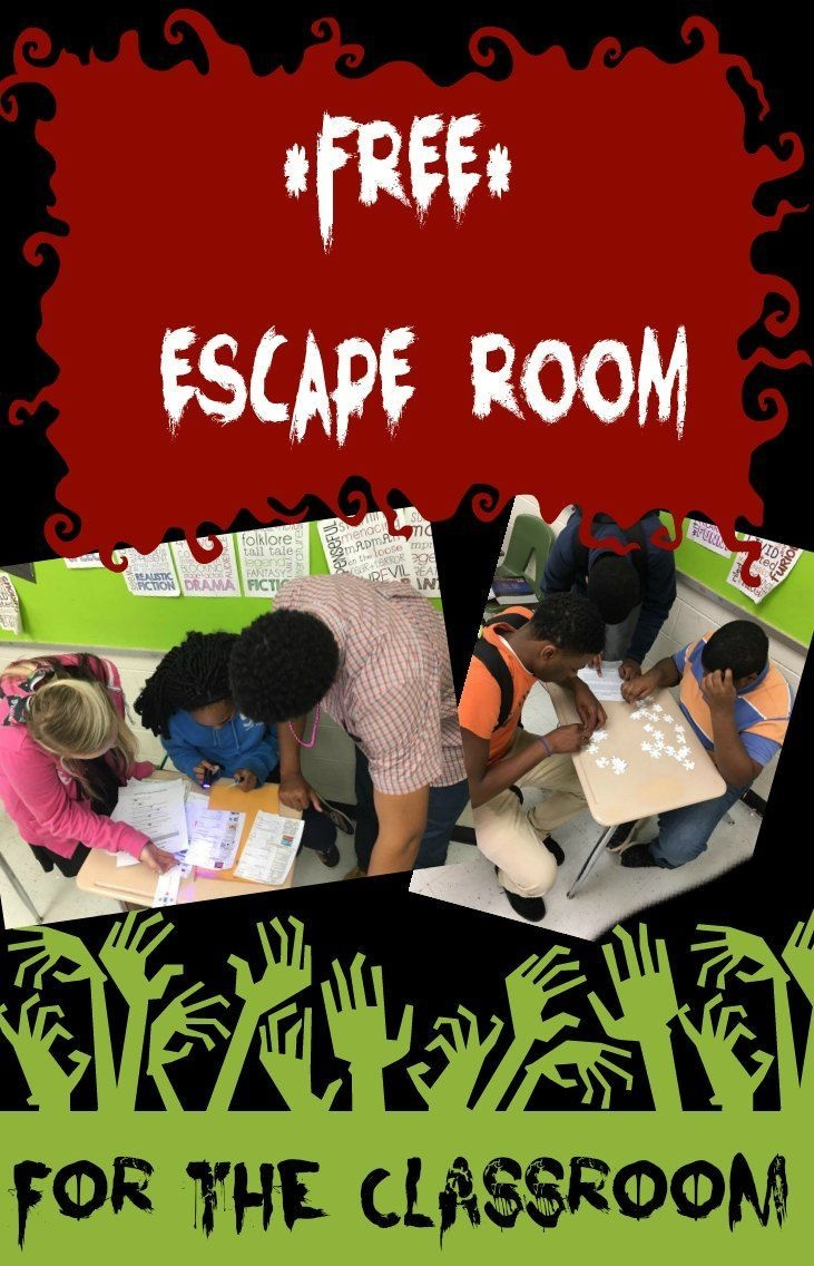 Classroom Escape Room (Review Game) | Middle School Math | Escape - Free Printable Escape Room Kit