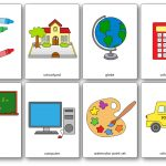 Classroom Objects Flashcards   Free Printable Flashcards   Speak And   Free Printable Flash Cards
