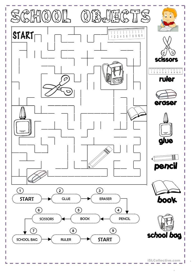 Classroom Objects Worksheet - Free Esl Printable Worksheets Made - Free Printable Classroom Worksheets