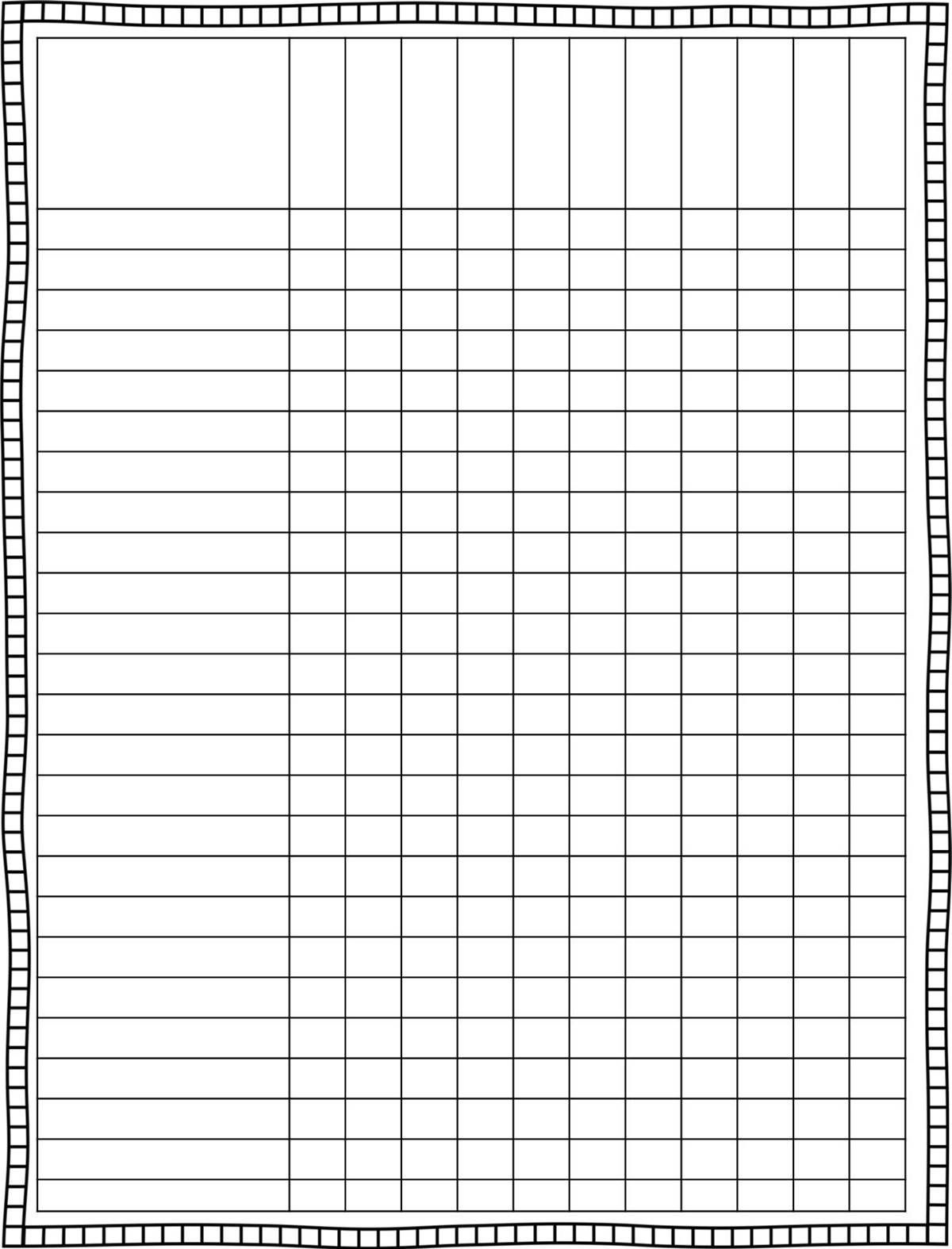 Classroom Schedule Template For Teachers   Finally, A Cute Lesson - Free Printable Gradebook Sheets For Teachers
