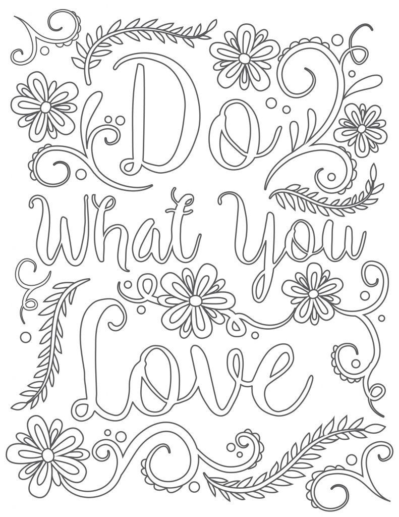 Click To Download Free Printable Adult Coloring Page. Happy National - Free Printable Pictures To Color