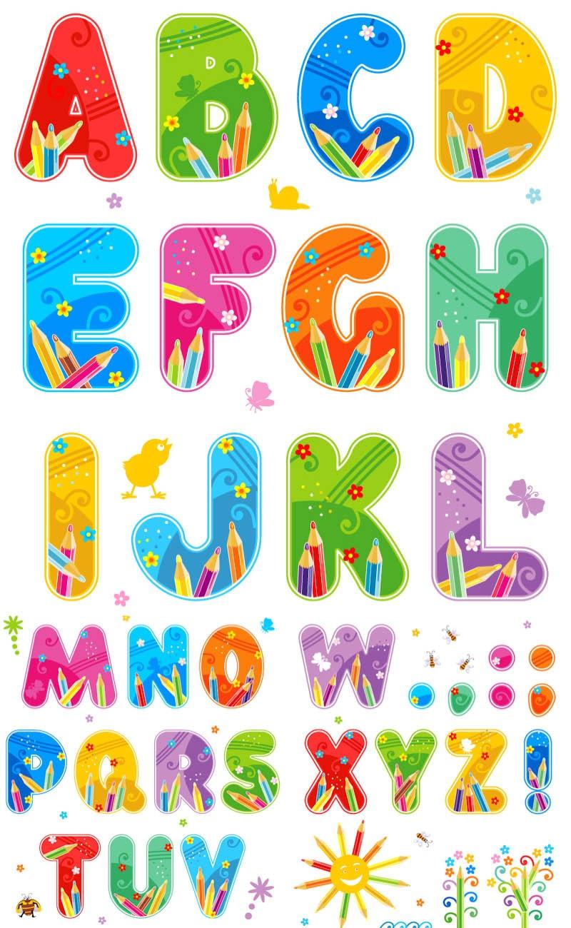 Clip Art Free Alphabet Letters – 101 Clip Art - Free Printable Clip Art Letters