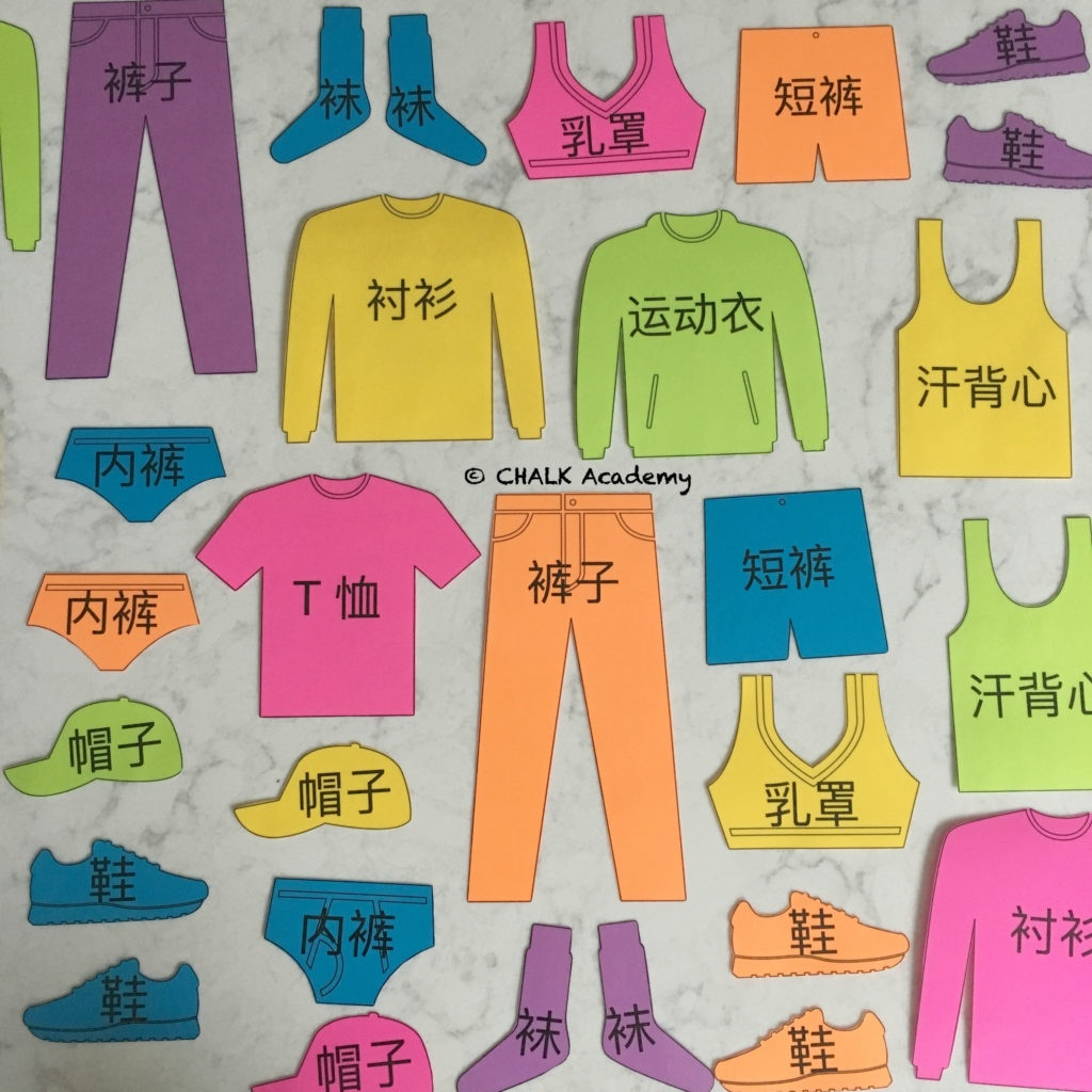 Clothing Flashcards For Pretend Play & More - Free Printable In - Free Printable Clothing Flashcards