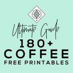 Coffee Free Printables: 180+ Ultimate Guide • Little Gold Pixel   Free Printable Fragrance Free Signs