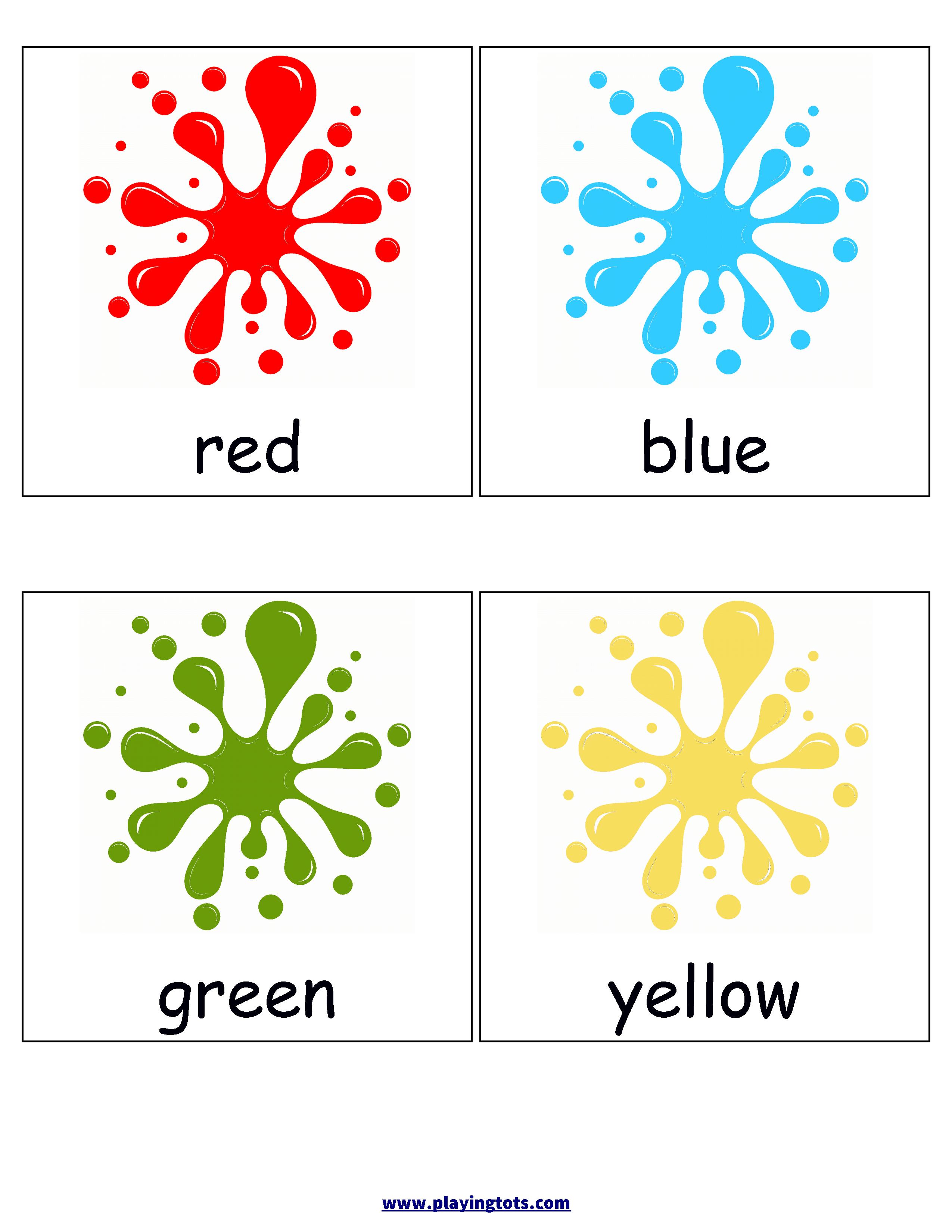 Color Flashcards | ~Colors~ | Color Flashcards, Flashcards For Kids - Free Printable Colour Flashcards